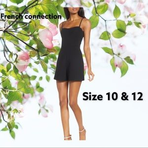 NWT French connection sexy black romper 10